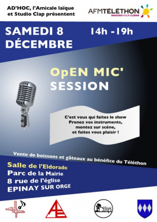 Flyer Open Mic'
