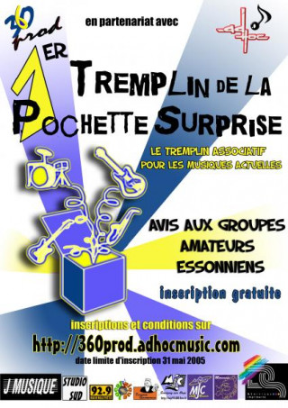 FINALE du tremplin de la pochette surprise 2005