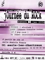 Journées du Rock: Lô + Docteur Prépu + 69VF + Nourou