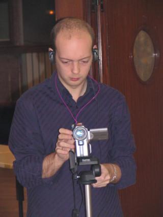 Greg caméraman