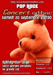 FISHEYE - Concert AD'HOC - Plateau Pop/Rock