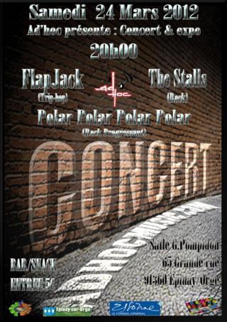 Flyer Concert AD'HOC