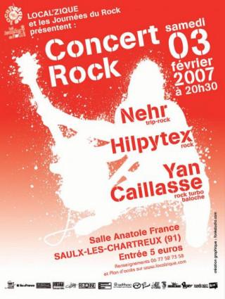 Concert Local'Zique / Les Journées du Rock 2007