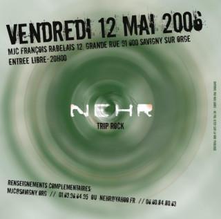 Concert NEHR (trip rock) + Spitfire (rock)