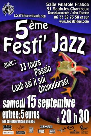 OTOPODORAGI en Concert au 5e Festi'Jazz du Local'Zique