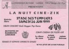 Flyer La Nuit Ciné-Zik