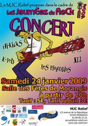 Journée du Rock 2009