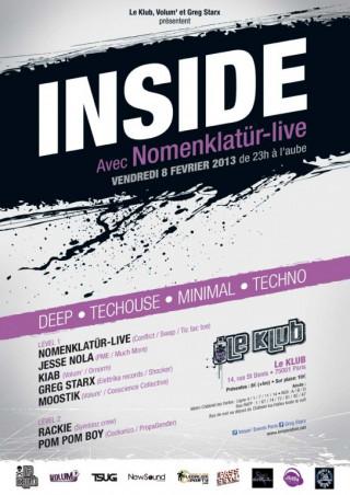 INSIDE with NOMENKLATÜR ' live