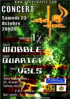 Concert AD'HOC - JAZZ/ELECTRO