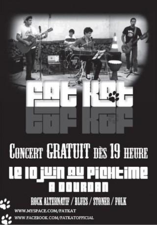 Fat Kat en concert au Pitchtime (Dourdan)