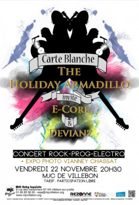 CARTE BLANCHE A THE HOLIDAY ARMADILLO