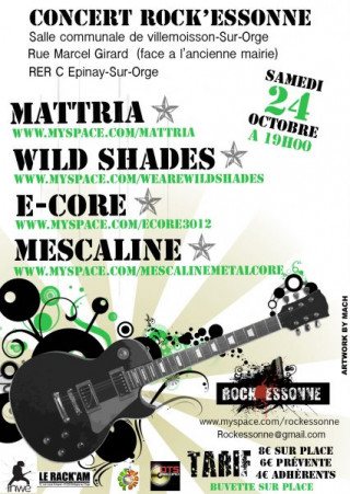 Concert Rock Essonne
