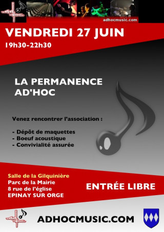 Flyer Permanence AD'HOC