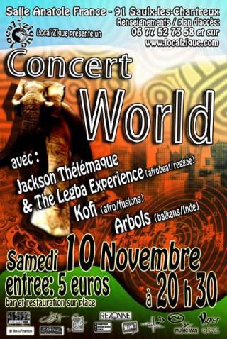 Concert World Local'Zique