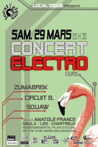 Concert Local'Zique Electro