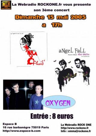 Concert rock: Fluid + angel Fall + Oxygen