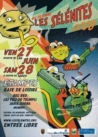Le 9ème festival des sélénites d'Etampes