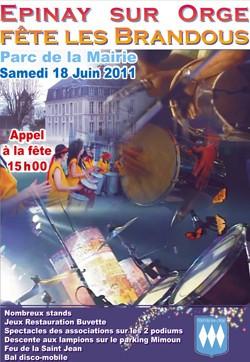Flyer Fête des Brandous