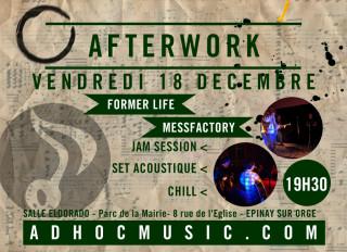 Flyer AfterWork AD'HOC #3