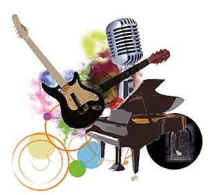 guitares, chant, pianos