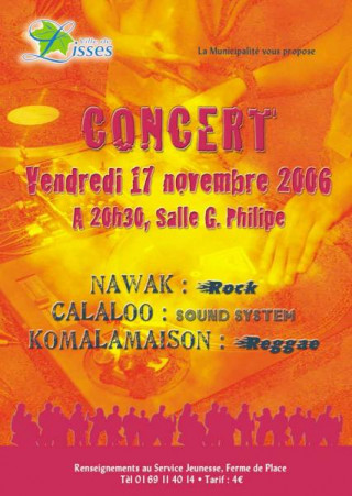 Concert : Rock Reggae and Sound system