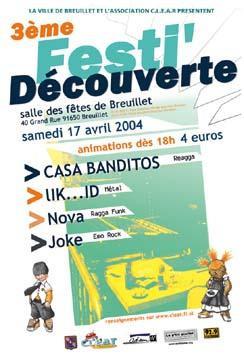 FESTi' DECOUVERTE CLEAR : Casa Banditos, Joke, Nova, Lik..id