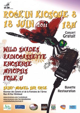 Festival ROCK'IN KIOSQUE 8