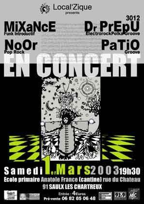 Concert Saulx les Chartreux