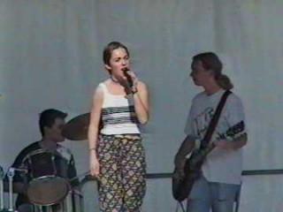 Celia, Greg, le Glaude (Squall)