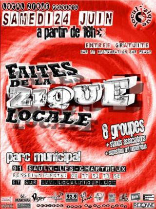 Flyer Faîtes de la Zique Locale - 2ème Edition