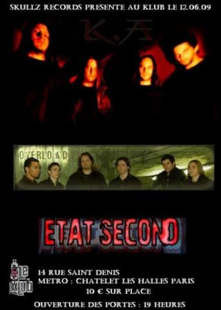 K.A + Overload + Etat Second