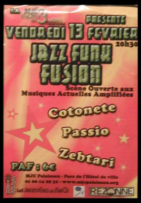 Journées du rock: Concert Jazz fusion