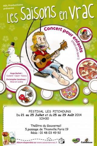 Festival Les Pitchouns - Paris 19