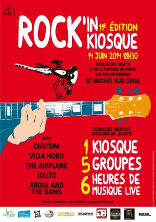 Festival Rock'in Kiosque 11ème édition