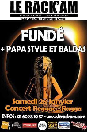 FUNDÉ + PAPA STYLE ET BALDAS