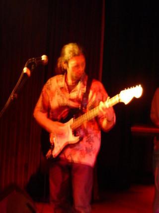 Guitariste Zebtary (Zebtari)