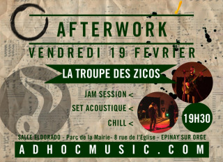 Flyer AFTERWORK AD'HOC #5